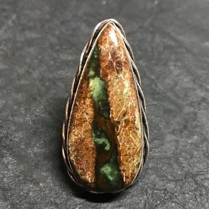 NEW!!  Handmade Chrysoprace Ring